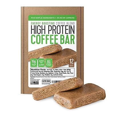 Protein Coffee Energy Bar