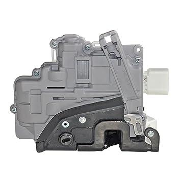Trasero Derecho cerradura de la puerta del actuador 1P0839015: Amazon.es: Coche y moto