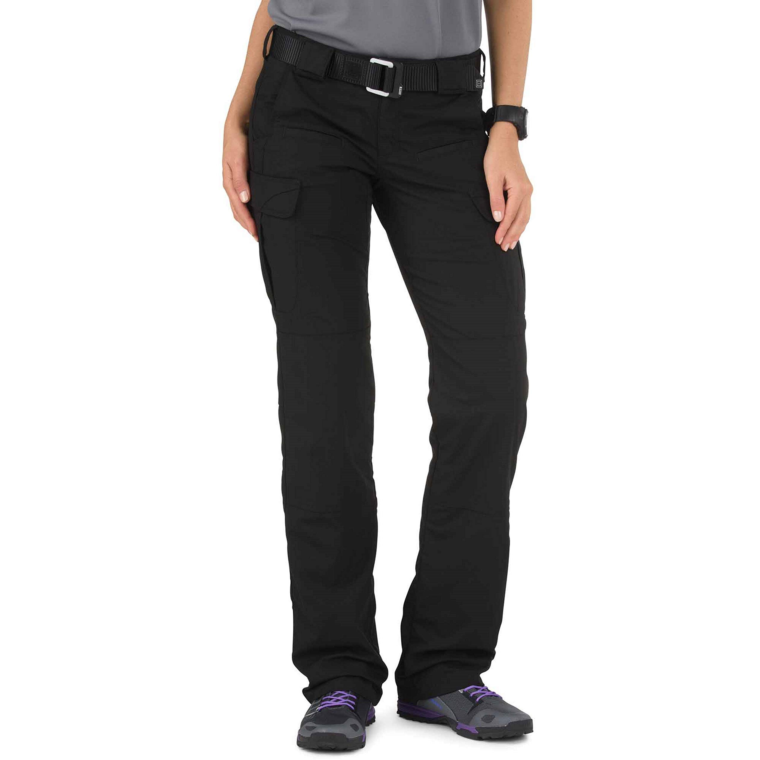 5.11 Tactical Women's Stryke Pant, Black, 12 R by 5.11