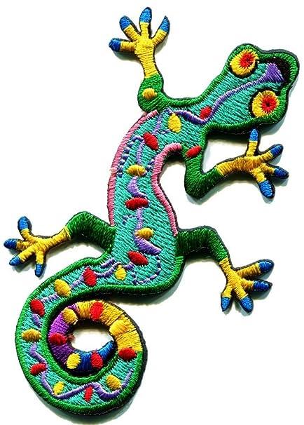 1d9e214520 Amazon.com: Lizard Gekko Salamander Retro Hippie Hippy Boho 70s ...