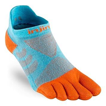 Injinji Socks Rendimiento Ultra correr No Show Mujer Calcetines Para Correr branquias - Gills, M-L: Amazon.es: Deportes y aire libre