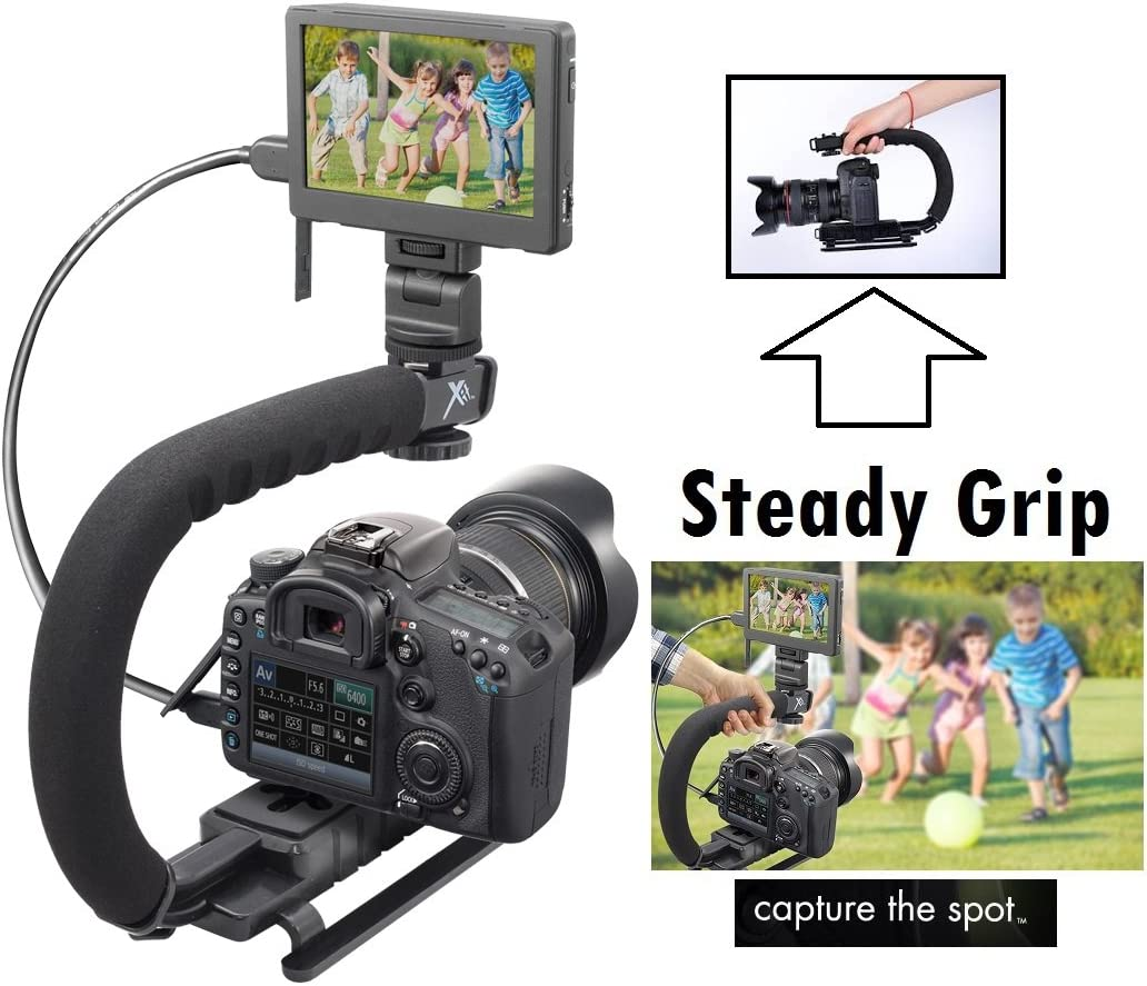 Camera Stabilizing Bracket for Canon Rebel T5i T4i T2i T1i 40D 50D 300D 350D T5