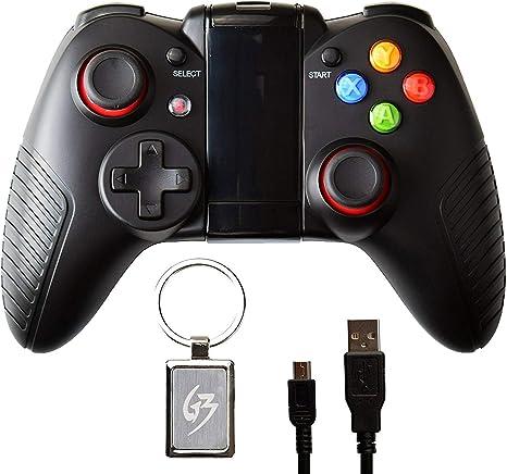 QKa Gamepad Controlador inalámbrico Bluetooth para Samsung Huawei Android TV Box PC con Llavero: Amazon.es: Deportes y aire libre