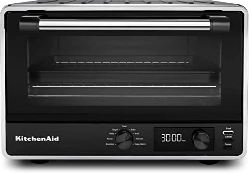 KitchenAid KCO211BM Digital Countertop Toaster Oven