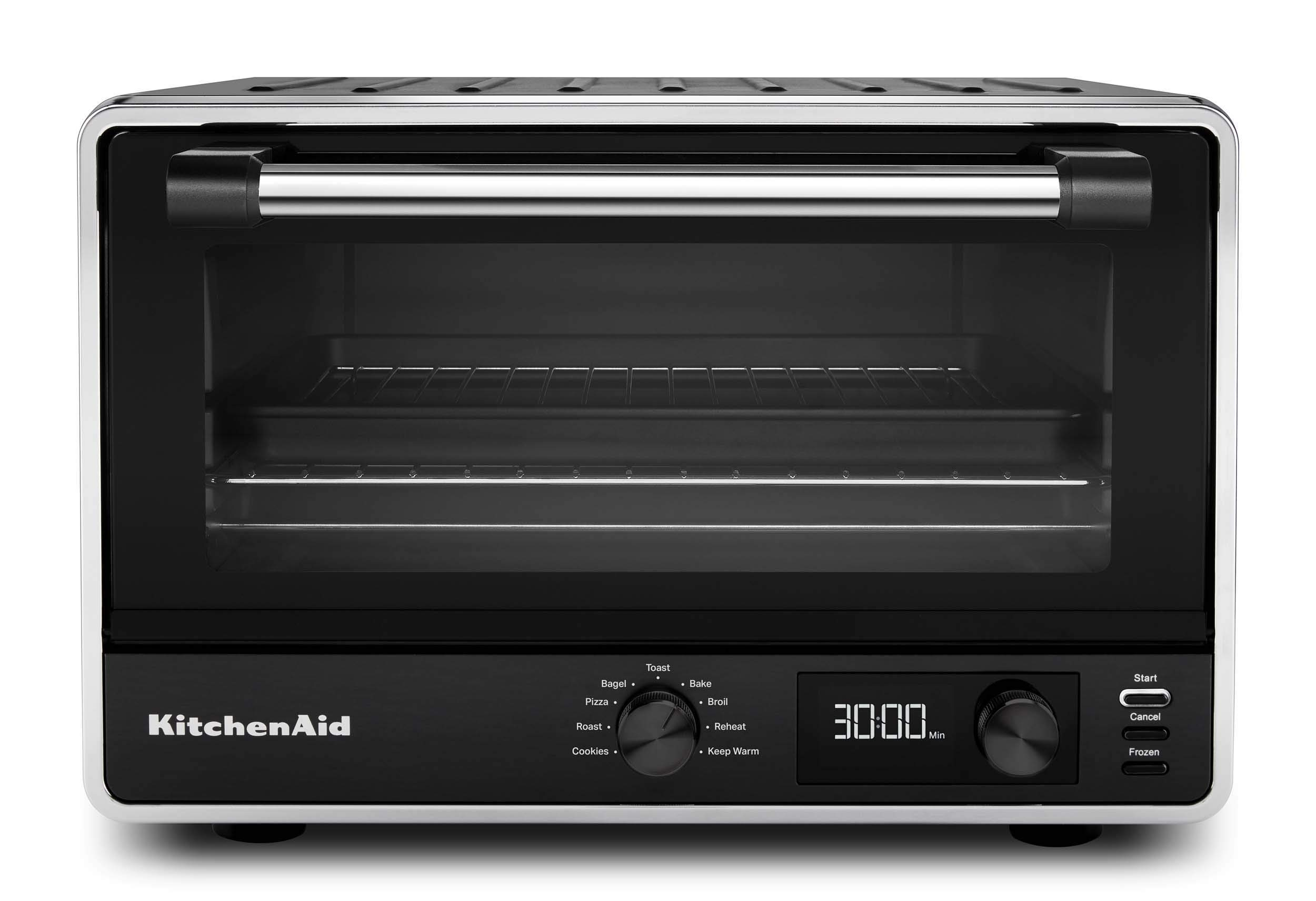 KitchenAid KCO211BM Digital Countertop Toaster Oven, Black Matte by KitchenAid