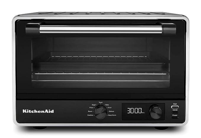 KitchenAid KCO211BM - Horno tostador digital para encimera, color ...