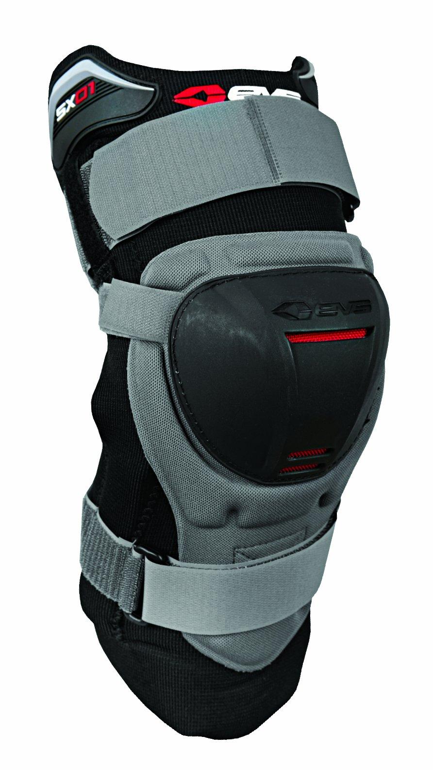 EVS Sports SX01 Knee Brace (Grey/Black, Medium)