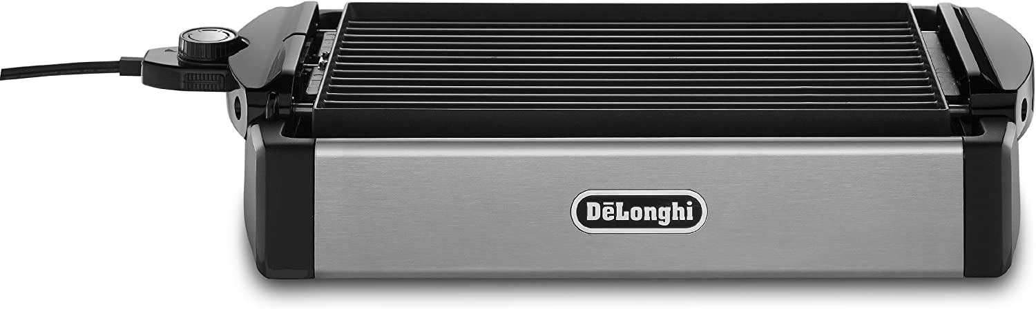 DeLonghi BGR50 De'Longhi Reversible Grill/Griddle, Black