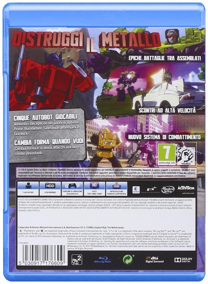 Transformers Devastation [Importación Italiana]: xbox one ...