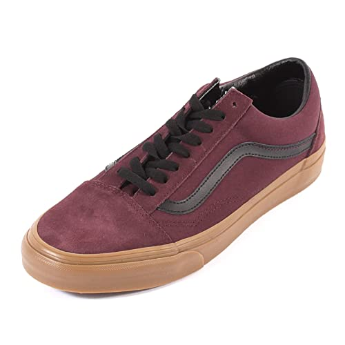2bad20f309 Image Unavailable. Image not available for. Color  Vans Men s Old Skool Gum  Canvas Suede ...