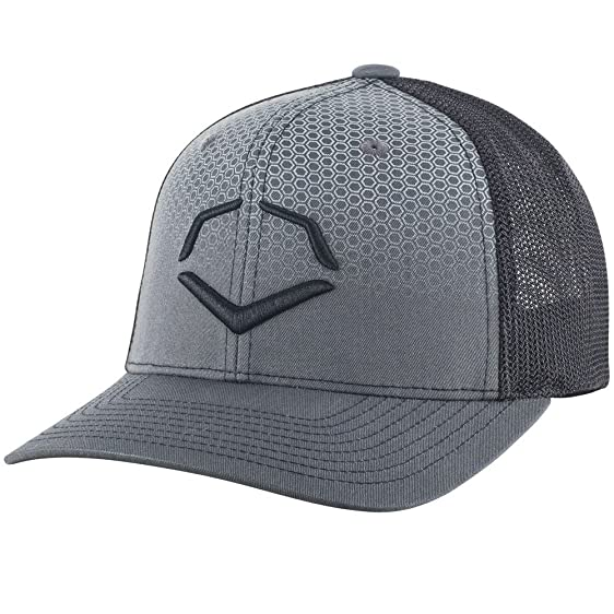 a94b63aecc1 buy evoshield phantom fade mesh flex fit trucker cap charcoal black small  medium 09a22 48980