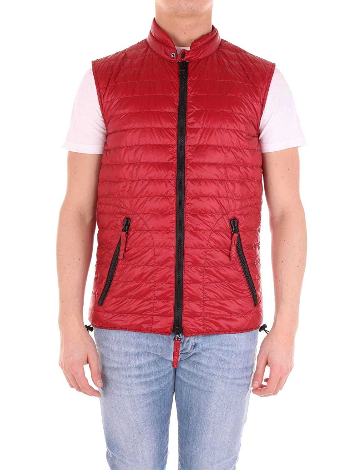 uk availability 8d88f f9b14 Duvetica Men's 3775001091RED Red Polyamide Down Jacket at ...