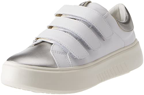 Geox D Nhenbus a, Zapatillas para Mujer, Blanco (White), 35 EU