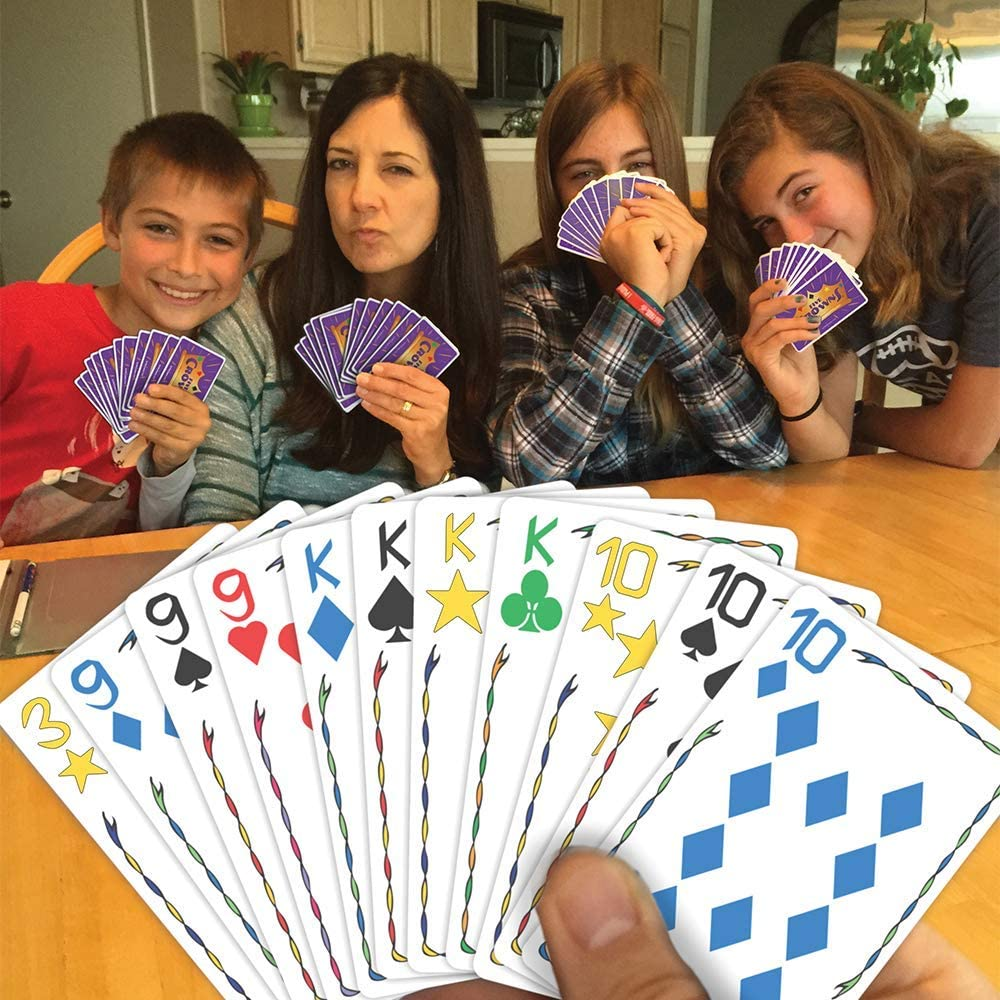 2* Five Crowns Card Game 5 Suites Classic Original Family Party play Rummy Style