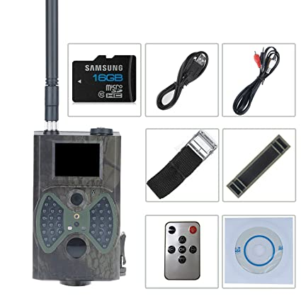 Vinteky Exterior HC-300 M HD Caza Cámara Digital IR Trail Scouting infrarrojos Video 2