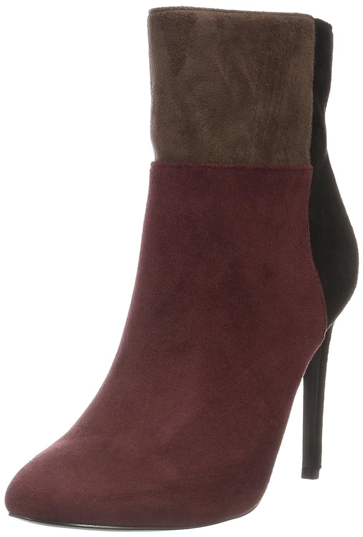 Blink Damen Alanis Kurzschaft Stiefel Mehrfarbig (Bordeaux/Black/D. Brown 1765)