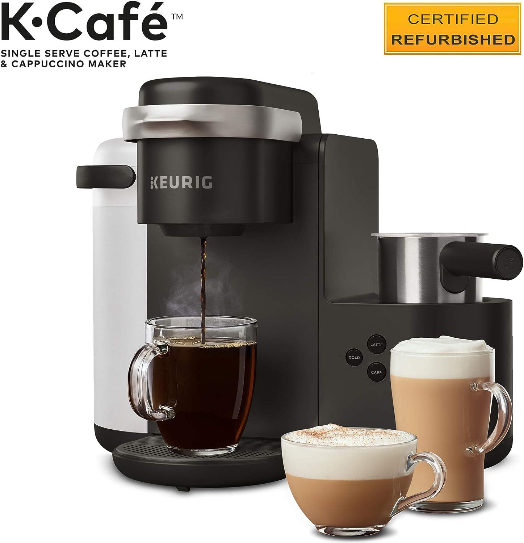 Renewed Keurig K-Mini Plus Coffee Maker Black Certified ...