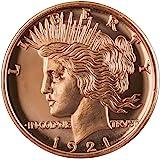 Peace Design 1 oz .999 Copper Round