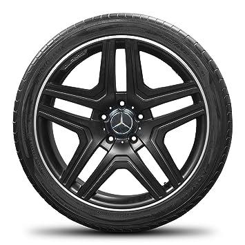 AMG Mercedes ML 63 AMG 21 pulgadas W164 Llantas de aluminio llantas neumáticos de verano ruedas de verano: Amazon.es: Coche y moto