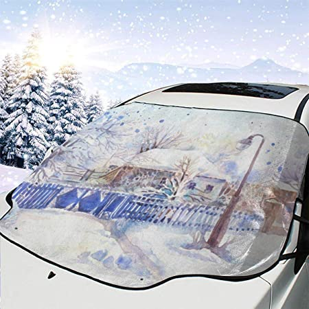 Car Windscreen Protector Shield Frost Ice Snow Shade Winter Driving Safety