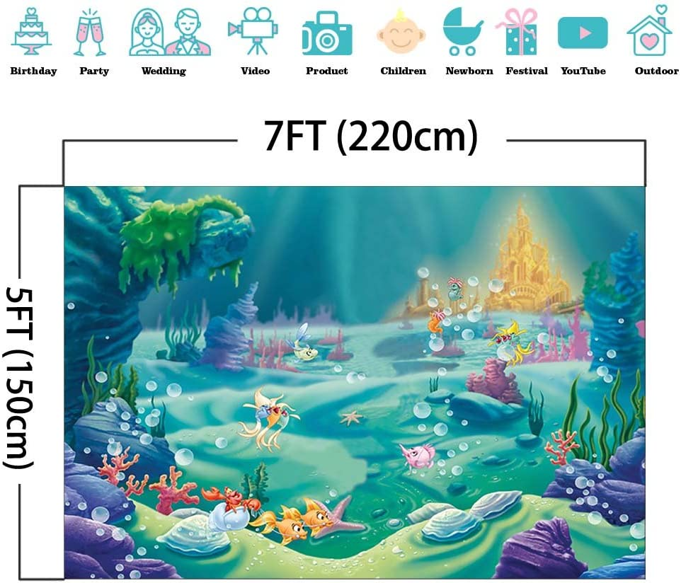 Fishing Under the Sea Personalized Banner Party Decoration