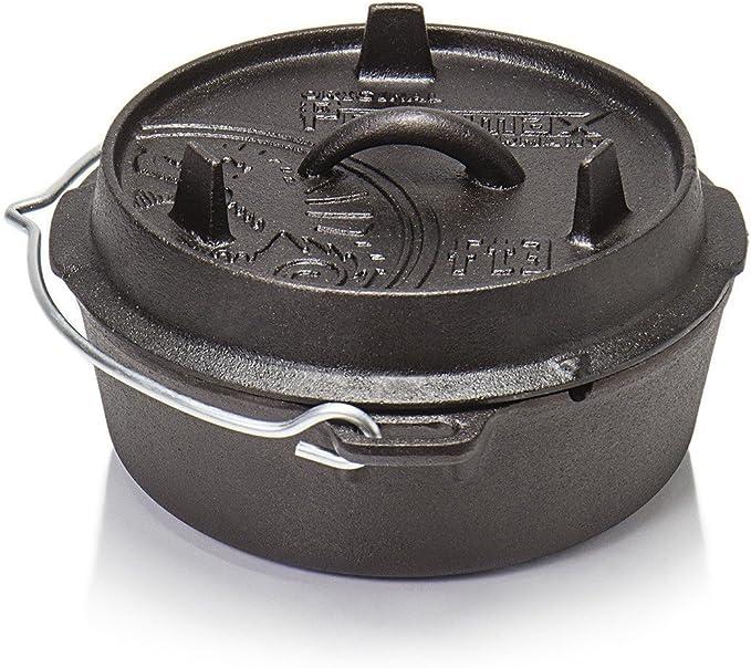 Petromax DMC-FT3/Feu Casserole avec couvercle Set Pieds Dutch Oven avec pelle Cocotte