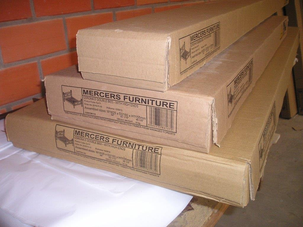 Mercers Furniture Corona Small Double High Foot End Bed Frame COR121