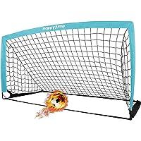 """Happy Jump Soccer Goal Soccer Net for Kids Backyard 6'6""""x 3'3"""", 1 Pack"""