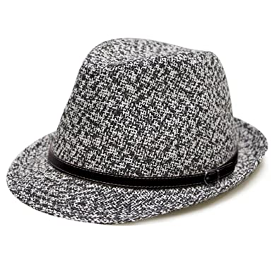 e6812725cd540 City Hunter Pamoa Unisex Pms510 Dent Leather Belt Fedora Hats 2 Colors (S m