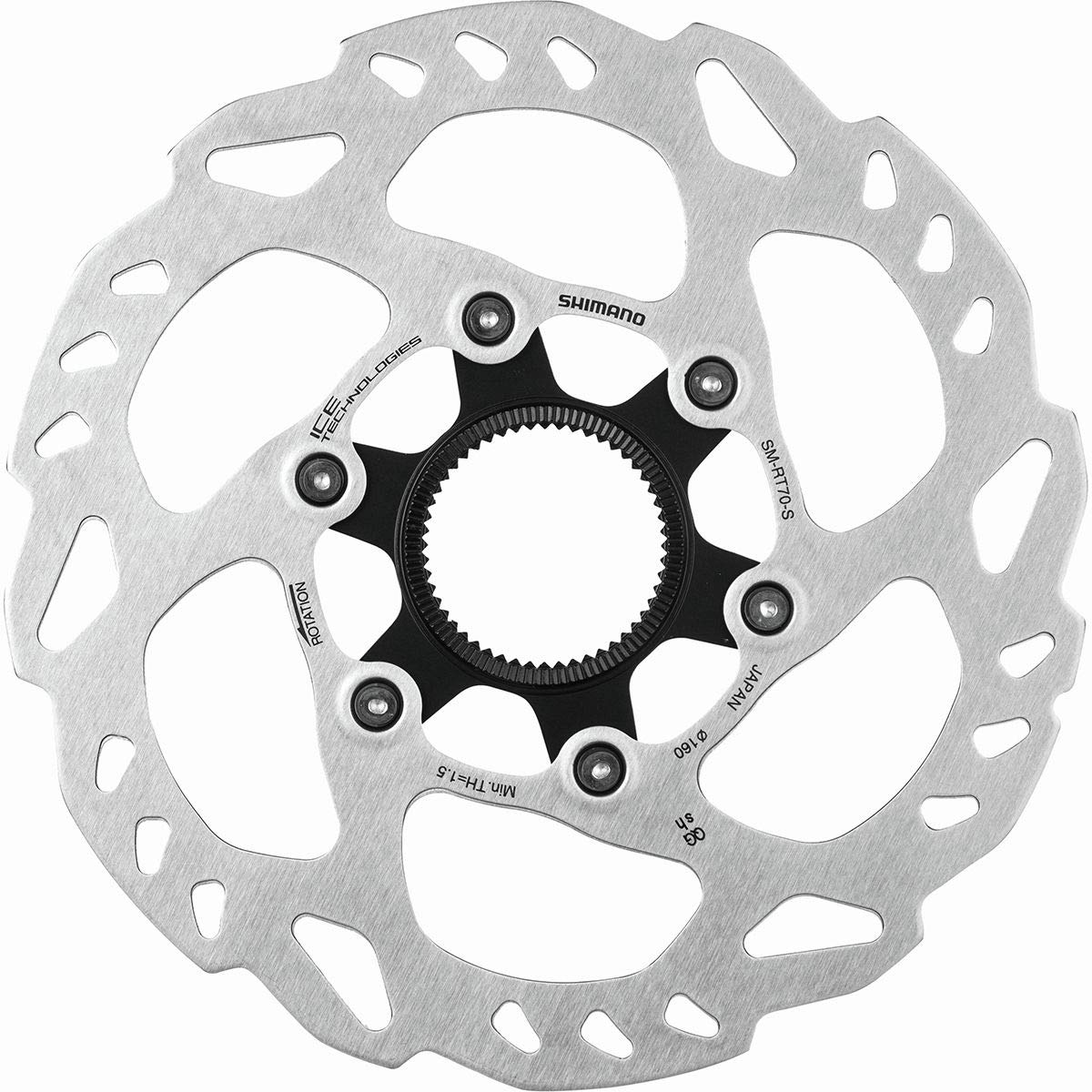 SHIMANO SLX SM-RT70 Rotor - Centerlock One Color, 140mm by SHIMANO
