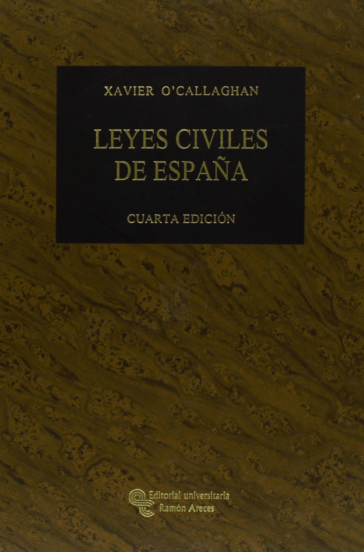 Leyes civiles de España (Grandes obras jurídicas): Amazon.es: O ...