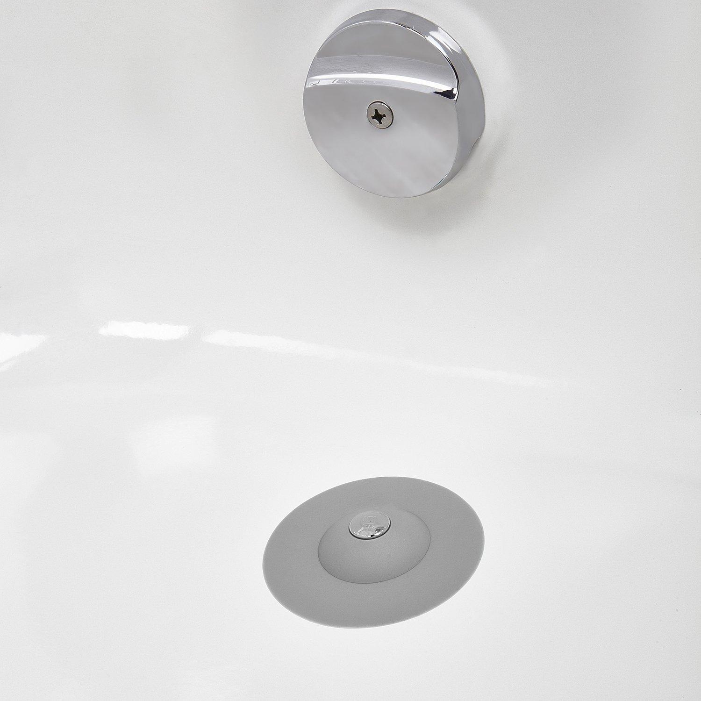 umbra flex badewannenst psel und haarsieb abfluss st psel abflusssieb bad k che ebay. Black Bedroom Furniture Sets. Home Design Ideas