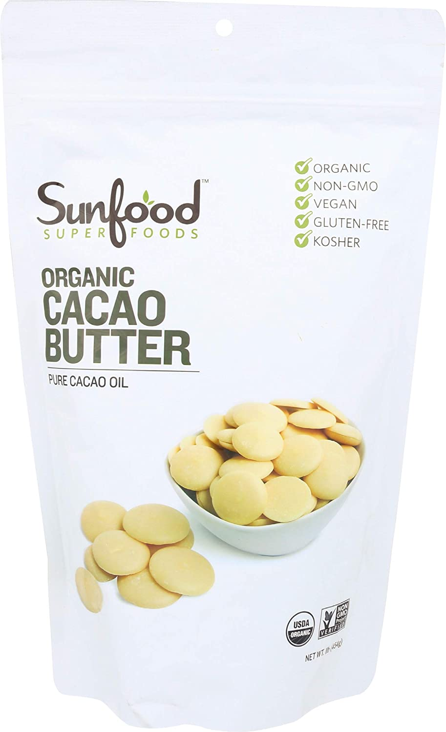 Sunfood Cacao Butter Image