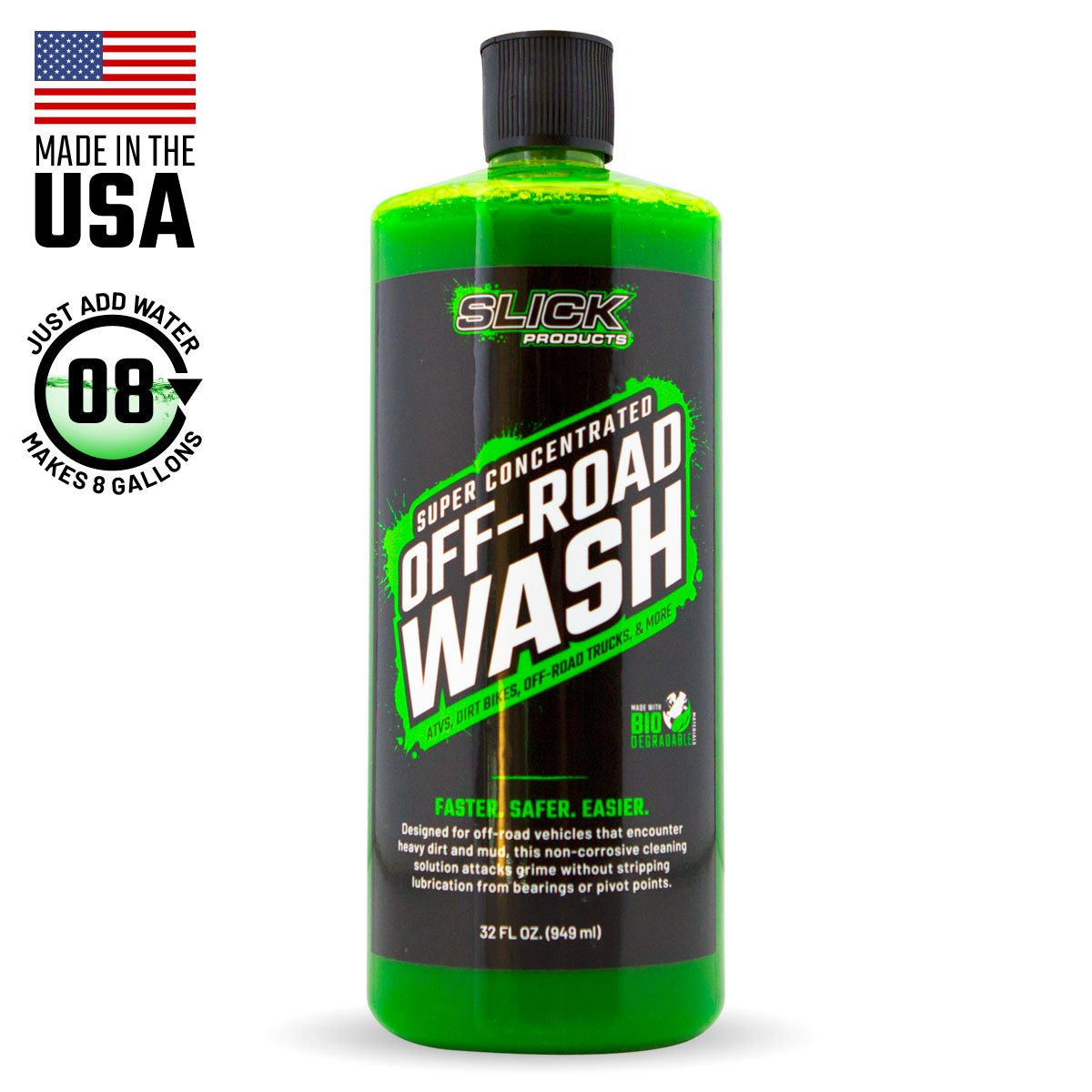 Slick Off-Road Wash, 32oz. by Slick Products