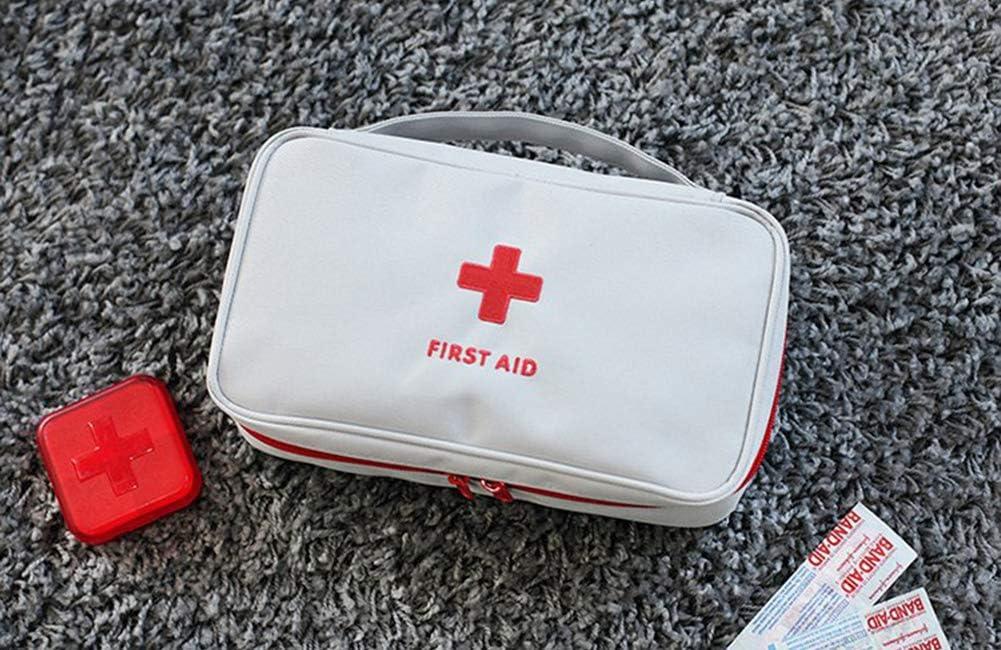 Viajes Apark Botiqu/ín de Primeros Auxilios Senderismo Supervivencia Kit de Primeros Auxilios S/úper Compacto y Profesional para Hogar Deportes Camping Oficina Emergencias