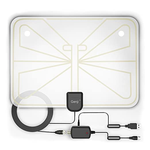 Review Antenna, Indoor Amplified Antenna