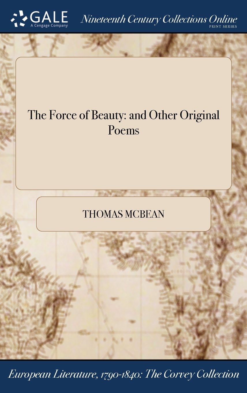 The Force of Beauty: and Other Original Poems pdf epub