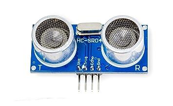 Sensor ultrasónico HC Medidor de distancia HC-SR04 para Arduino Raspberry Pi de de.: Amazon.es: Informática