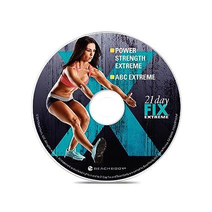 Otoño Calabrese de 21 día Fix Extreme - Paquete Ultimate: Amazon.es: Deportes y aire libre