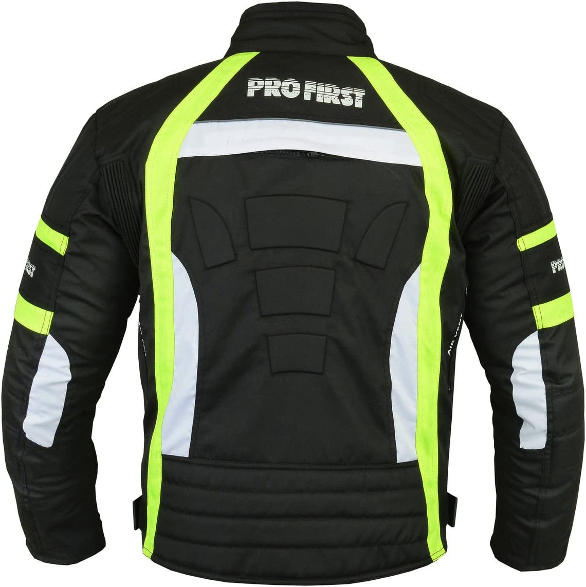 FREE BALACLAVA Trouser in Cordura Fabric and CE Approved Armour Black /& Green, Extra Small Waterproof Motorbike Motorcycle 2 Piece Full Suit Jacket 6 Packs Design Most Popular