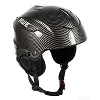 AWE® Pour enfants Garçons Ski casque Graphite Taille: 52-56cm