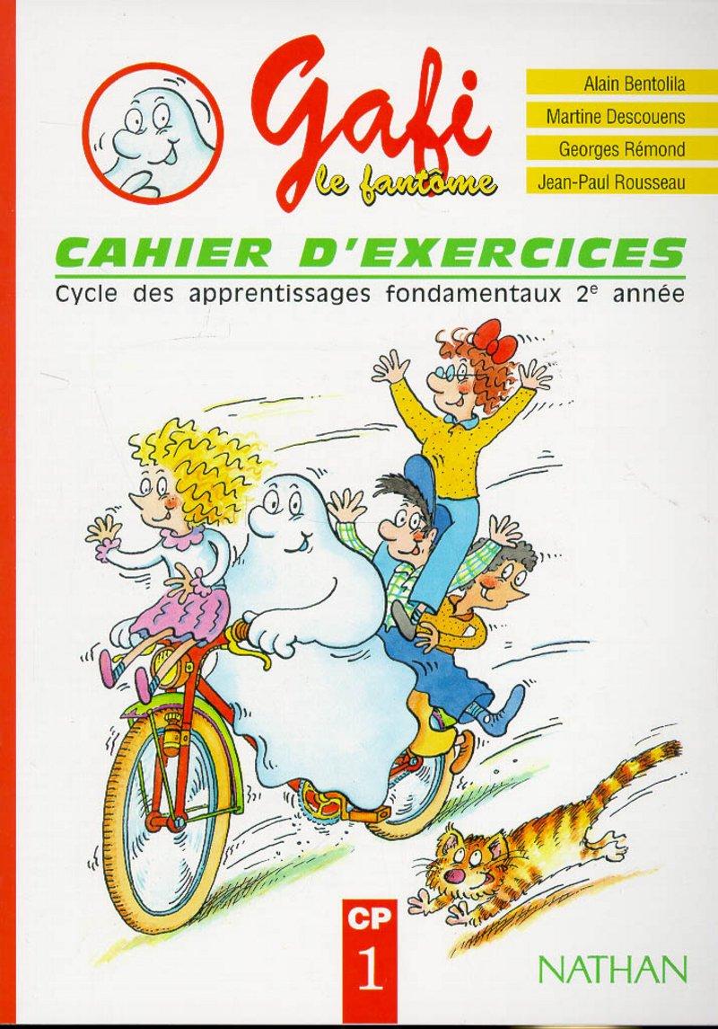 Amazon.fr   Gafi le fantôme  cahier d'exercices, CP   Bentolila ...