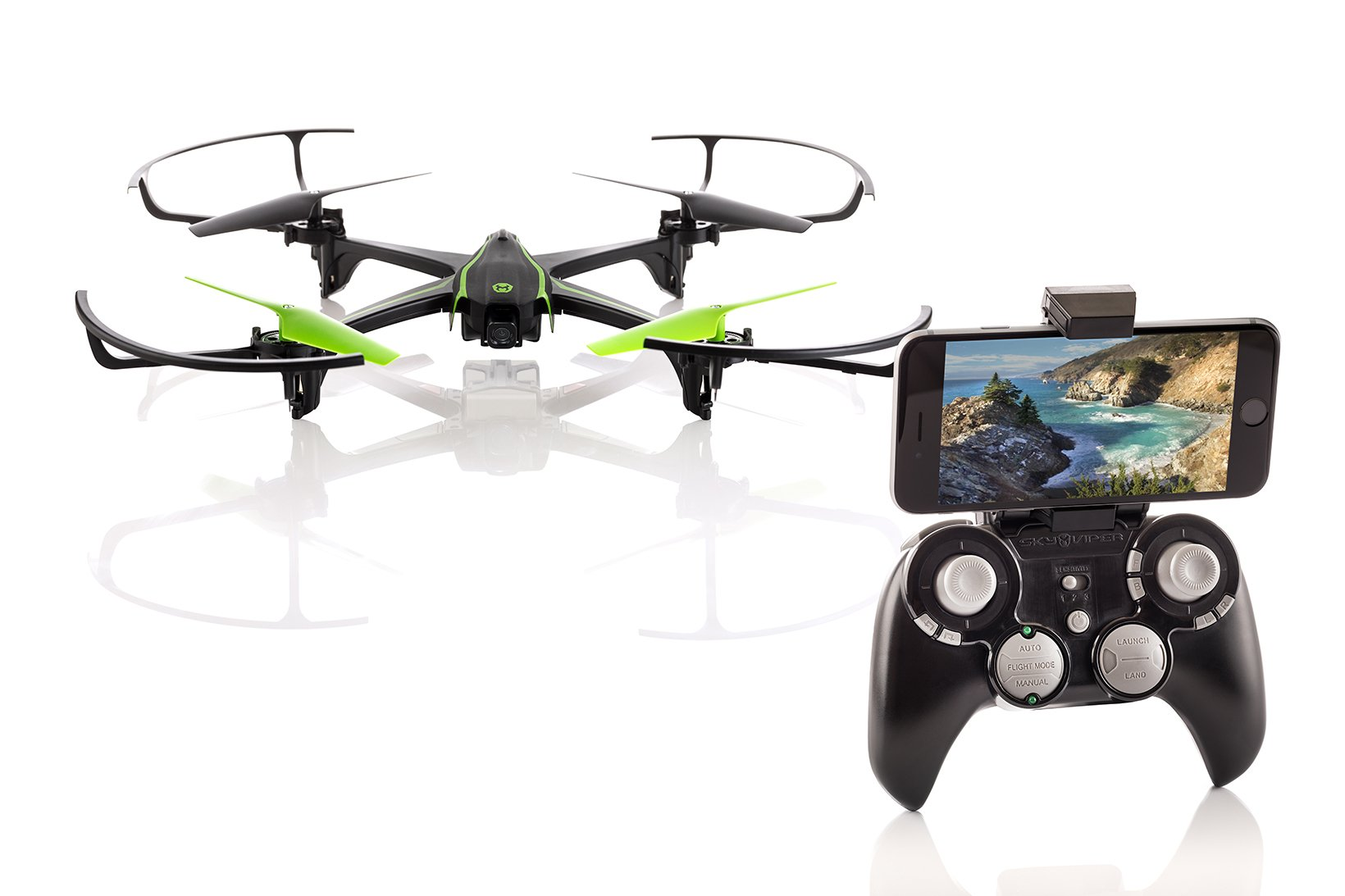 Sky Viper v2450HD Streaming Drone with Flight Assist & 2X Improved Flight Range - 2017 Edition by Sky Viper (Image #2)