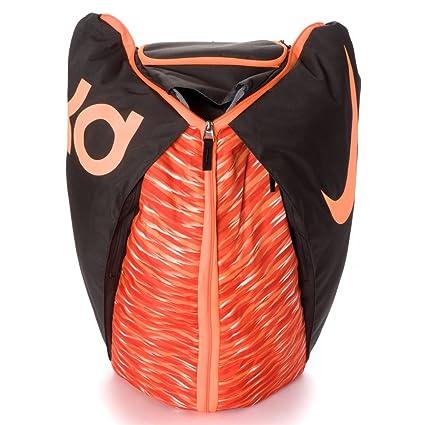 Nike KD Max Air VIII Basketball Backpack Deep Pewter Bright Citrus Orange 3cfb9d3ea9