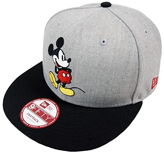 fac271cb Image Unavailable. Image not available for. Color: New Era Mickey Mouse CL  Grey Snapback Cap 9fifty Special Limited Edition Disney