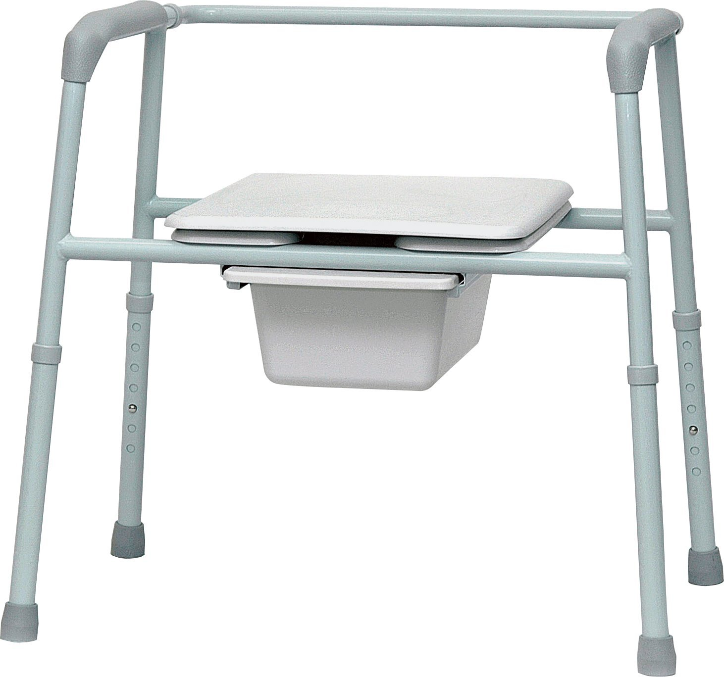 ISG411 - Professional Medical Imports (pmi) Bariatric Commode, 15-1/2 x 15-1/2 Seat Dimension