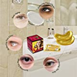 RIVAJ Golden Crystal Eye Mask Under Eye Gel Pads