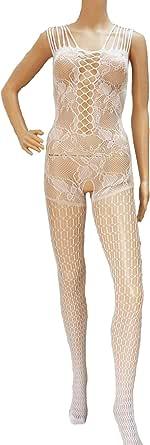 ملابس الداخلية مخرمة من قطعة واحدة لعرض المتعة للنساء