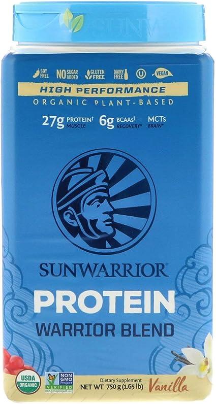 Sunwarrior Warrior Blend Vanilla - 750 gr