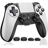 Kydlan Controller for PS4, Wireless Controller for PS4 Gaming Remote, Modded Gamepad Compatible with Touch Panel/Audio…